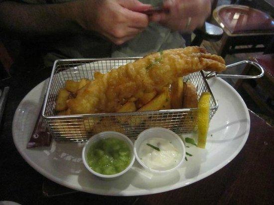 The Hairy Lemon : Fish & chips