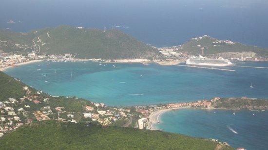 Sonesta Great Bay Beach Resort, Casino & Spa: from airplane