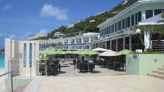 Sonesta Great Bay Beach Resort, Casino & Spa: looking at hotel