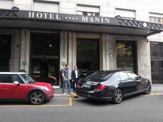 Hotel Manin: Fachada