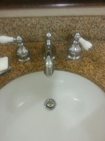 Hilton Wilmington / Christiana : Broken sink during my stay they never fixed asked two times.