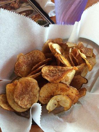 CR Surf and Turf: Cajun seasoned potato chips