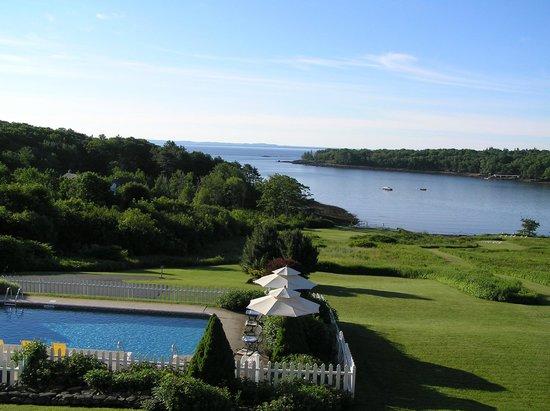 Strawberry Hill Seaside Inn : Backyard view