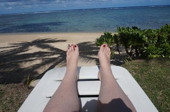 Bedarra Beach Inn: Happy Feet.