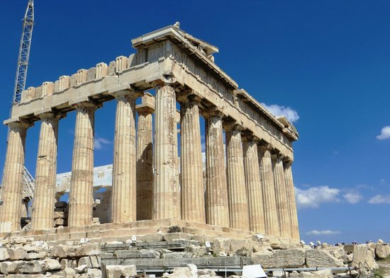 Partheon - Picture of Greek Acropolis Taverna, Alykanas - TripAdvisor