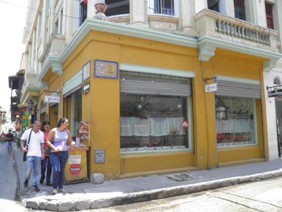 Gelateria Paradiso: predio da sorveteria