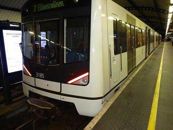 Karl Johans gate: Osl Metro