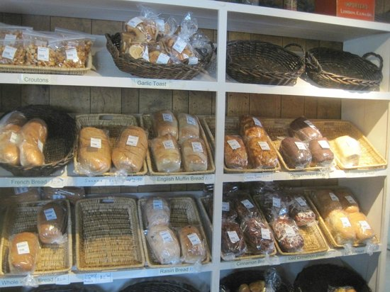 H&H Bakery and Restaurant AuGres: baked goods, H&H Bakery and Restaurant, Au Gres, Michigan, June 2014