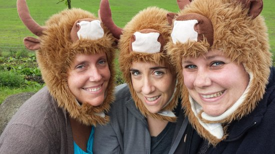 The Hairy Coo - Free Scottish Highlands Tour : The finest in coo hats