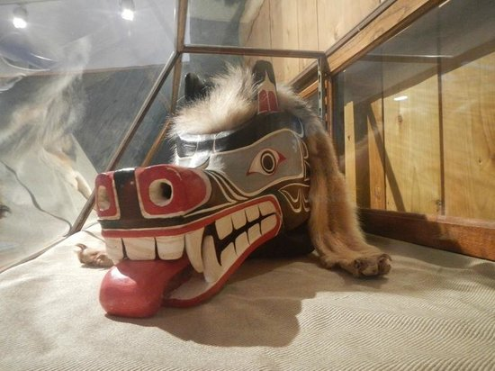 Courtenay & District Museum & Paleontology Centre: First Nations mask