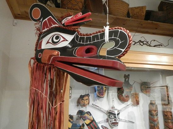 Courtenay & District Museum & Paleontology Centre: First Nations display