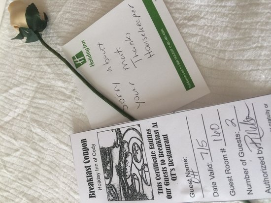 Holiday Inn Cody at Buffalo Bill Village : What great service