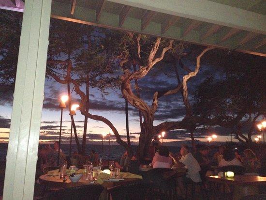 Lava Lava Beach Club: before it got really dark