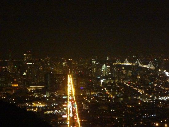 Twin peaks de noche.