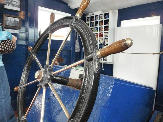 Fisheries Museum of the Atlantic: Inside a Fishing Boat
