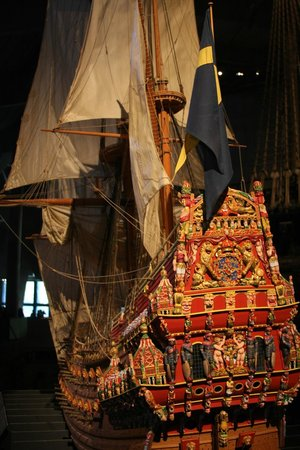 Vasa-Museum: what she looked like so colorful