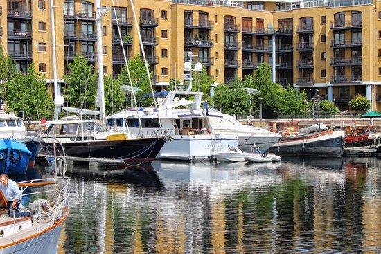 St. Katharine Docks: #raceofyourlife #clipperaroundtheworld