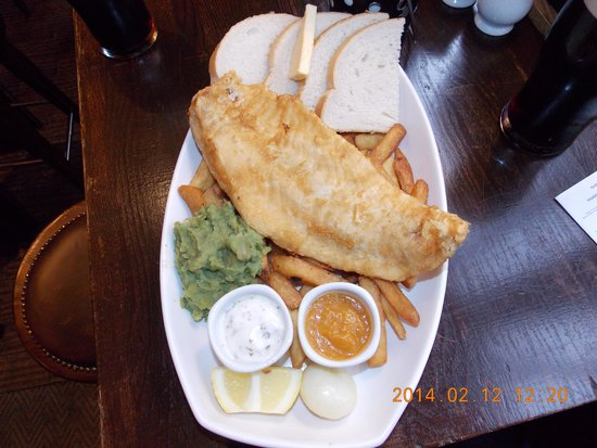Bayswater Arms: Codfish