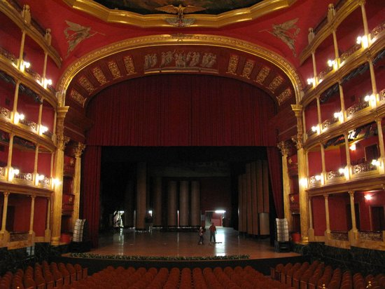 Teatro Degollado: The stage