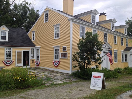 Exeter, NH: Exterior of the museum