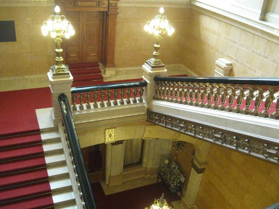 Rathaus: Ornate staircase