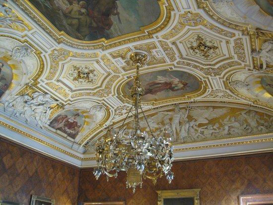 Town Hall: Beautiful ceilings