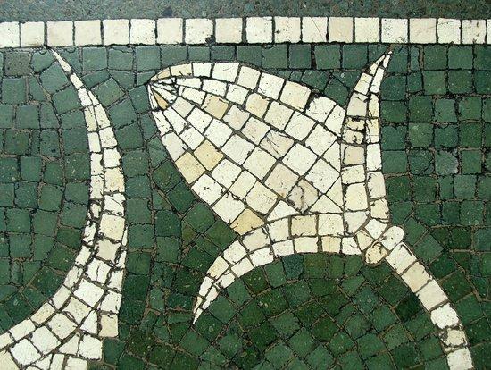 Gliptoteca Ny Carlsberg: Gulvmosaik