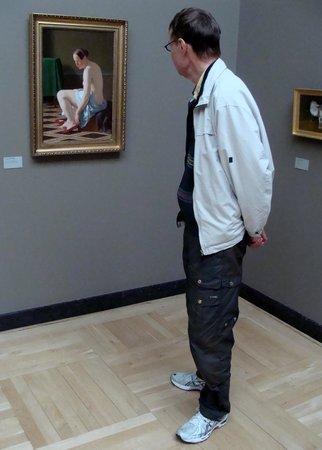 Gliptoteca Ny Carlsberg: En bekndt ser på maleri