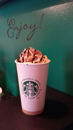 Crystal Cove Beach Resort: A Mocha from the on site coffee bar Bean At The Cove...delicious!