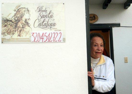 Posada Santa Catalina: Front entrance