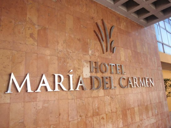 Maria del Carmen Hotel: Hotel Entrance