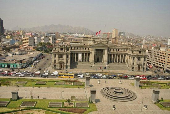Sheraton Lima Hotel & Convention Center: Historical old down town