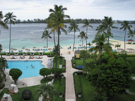 British Colonial Hilton Nassau : The view from our room