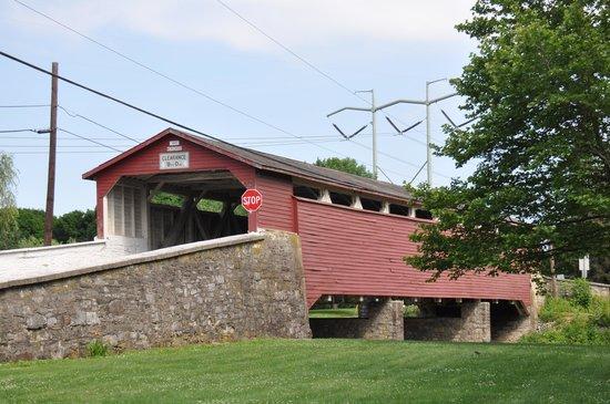 Covered Bridge loop: Wehr's Bridge (1841)