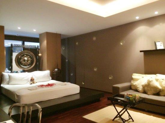 Mantra Samui Resort : Room complete with killer mat