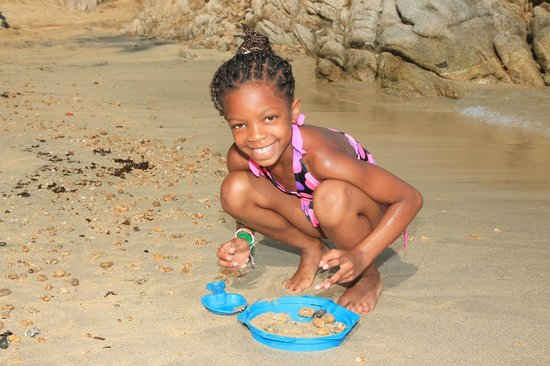 Vallarta Adventures - Las Caletas Beach Hideaway: sand castles