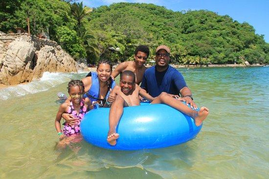 Vallarta Adventures - Las Caletas Beach Hideaway: tubing at Las Caletas