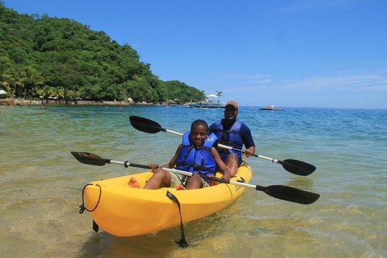 Vallarta Adventures - Las Caletas Beach Hideaway: kayaking