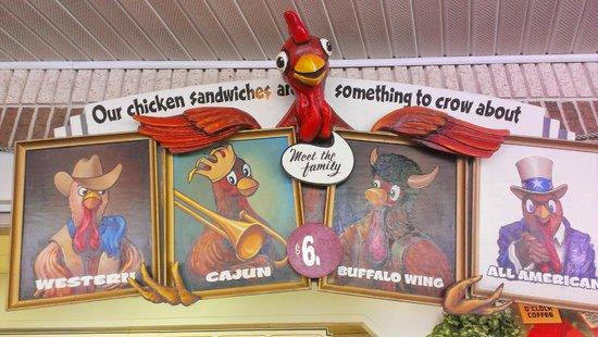 Knoebels Amusement Resort: Chicken Galore