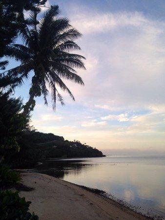 Linareva Moorea Beach Resort : Amanecer