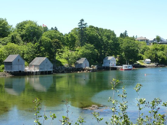 Bluenose Sidecar Tours: Scenery Along the Drive