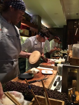 Uchiko: Sit at the sushi bar for even more fun!