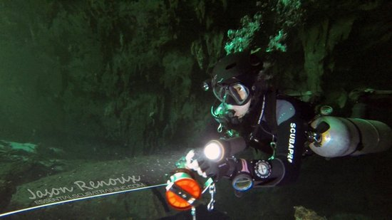 Essential Scuba Training: It could be you reeling us out of the cave in your Cave Diver class
