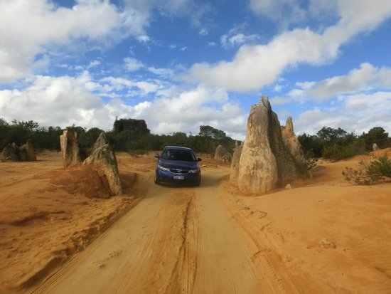The Pinnacles: Easy drive in a car.