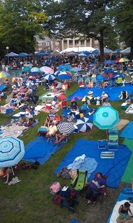 Saratoga Performing Arts Center: JazzFest 2014 Lawn