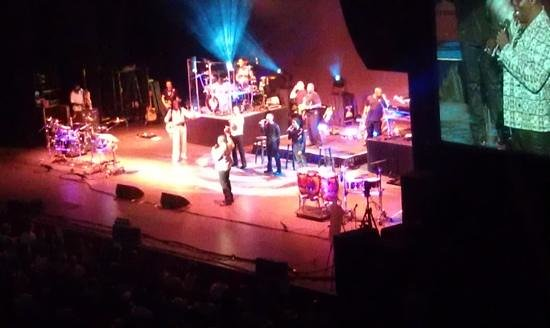 Saratoga Performing Arts Center: JazzFest-EarthWind&Fire 2014