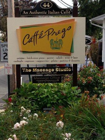 Caffe Prego : Cafe Prego