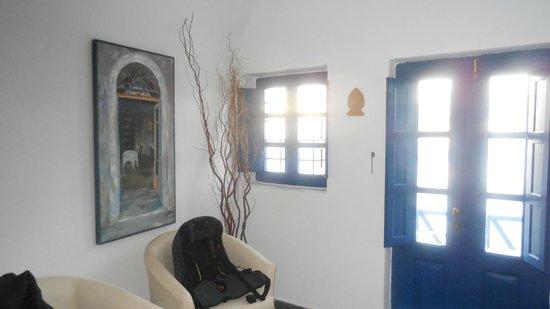 Heliotopos Hotel: Living area - top floor