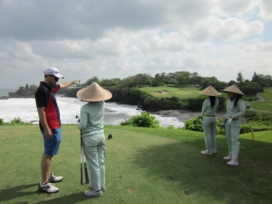 Nirwana Bali Golf Club: Watch out for the water