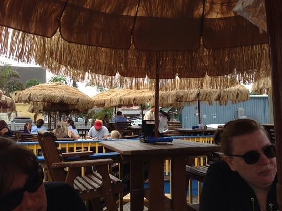 Marcoritaville Tiki Bar & American Grille: Outdoor seating